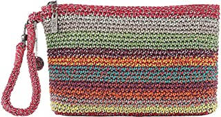 The Sak womens The Sak Sayulita Crochet Wristlet