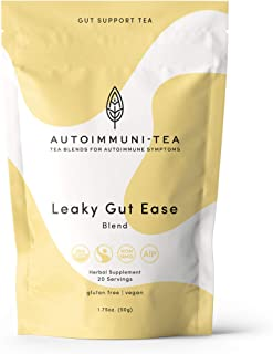 AIP Diet Herbal Tea - Leaky Gut Support Tea: Autoimmune Tea Blend for AIP, Whole 30, Paleo friendly, Autoimmune Protocol -...