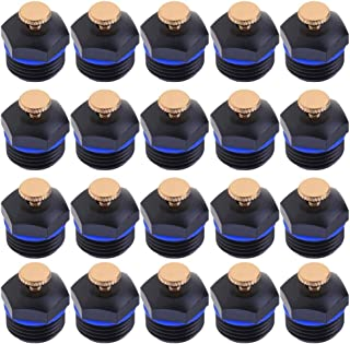 Vipeco 50Pcs 1/2'' Garden Sprinklers Micro Flow Dripper Drip Head Irrigation Tools 35.00 * 25.00 * 25.00mm