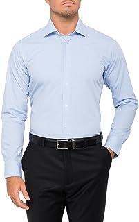 Calvin Klein Men's Slim Fit Check Shirt