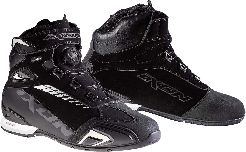 Schuhe IXON wasserfest schwarz ffop7d0d2300 Bull wei Neue kNOwPX8n0
