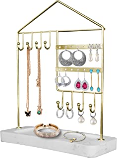AMAZINGCATS Jewelry Holder,Jewelry Organizer for Earring,Necklace,Bracelets&Rings.Most Artistic Accessories Jewelry stand ...