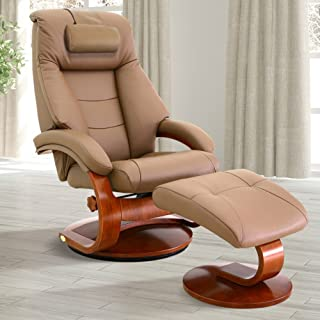 Oslo Collection 58-LO3-24-103-CP Mac Motion Recliner, One Size, Sand/Tan
