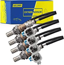 [AOCORRY] 4Pcs Upstream/Downstream O2 Oxygen Sensor for 2003-2014 Chevrolet Tahoe V8 5.3L, 2003-2013 Chevrolet Silverado 1500 V8 6.0L, 2003-2013 GMC Sierra 1500 V8 5.3L
