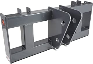 Universal Skid Steer to Backhoe Bucket Breaker Adapter Mount Plate Attachment