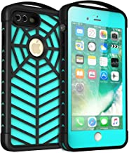 iPhone 7 8 Plus Waterproof Case, Shockproof Dropproof Dirtproof Rain Snow Proof Full Body Protective Cover IP68 Underwater Case Fingerprint ID Screen Protector for iPhone 7 Plus 8 Plus (Blue2)