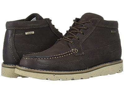 Rockport Storm Front Waterproof Moc Boot (Dark Brown Suede) Men