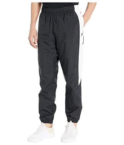 Nike NSW Pants Woven Cuffed Color Block (Black/White/Black) Men