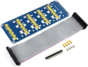 waveshare Stack HAT Raspberry pi I/O Expansion Shield Onboard 5 Sets 2x20 Connector to Directly Connect Multiple Expansion Functional Boards