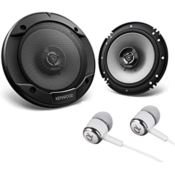 160W RMS 6.5 Performance Series 2-Way Component Car Speakers Kenwood KFC-P710PS 560W Max