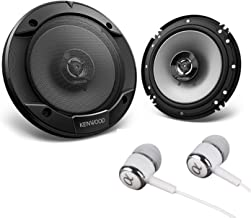 "Kenwood 6-1/2"" 300W Max (60W RMS per Pair) 6.5"" KFC 2-Way Sport Series Flush.."
