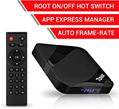 TaNix Android TV Box, 2018 Newest TX3 MAX Android 7.1.2 4K 3D H.265 TV Box with BT 4.0 / Amlogic Quad-Core S905W 64 Bits CPU / 2GB RAM 16GB ROM