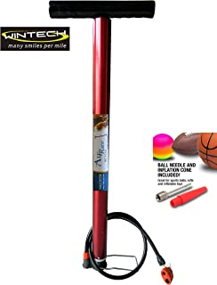 WINTECH Airrace Multipurpose Air Pump for Car Bike and Cycle Sports Ball Scooter Inflatable Furniture/Toys