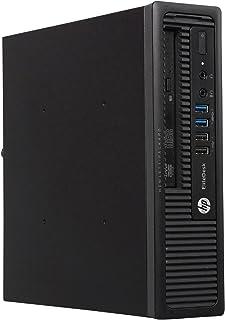 中古パソコン Windows10 デスクトップ 極小 一年保証 HP EliteDesk 800 G1 US Core i5 4590S 3.0(~最大3.7) GHz MEM:16GB SSD:512GB DVD-ROM 無線LAN:非搭載 ...