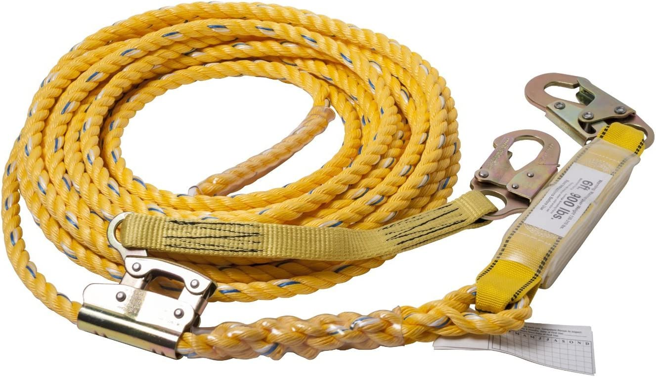 Guardian 01324 VLA-100 Year-end gift Poly Steel Assembly Branded goods Vertical Lifeline 10