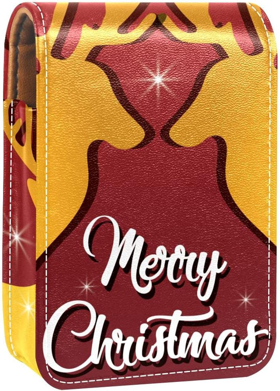 Christmas Bombing Mail order new work Reindeers Deer Elk With Background Gloss Red Lip Holde