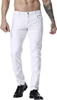 Men's Slim Fit Stretch Comfy Fashion Denim Jeans Pants