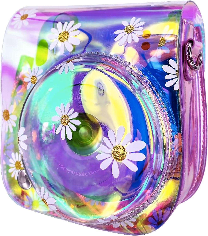 Purchase New color Wolven Camera Protective Case Bag Mini with Compatible Fujifilm