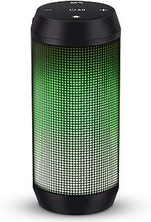 Cassa Bluetooth Altoparlante Speaker Portatili TWS Stereo Hi-Fi Bassi Potenti Luce LED Wireless Micro SD Chiamata Vivavoce...