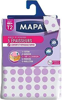 MAPA - Housse de Repassage pour table à repasser - Reflect 5 Epaisseurs – Répartition idéale de la chaleur – Confort et R...