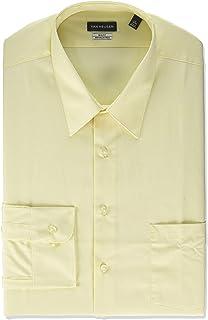 Van Heusen Mens Big and Tall Dress Shirt Big Fit Poplin Dress Shirt