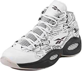 ad37315cc7fd Reebok V69765 Men QUESTION MID Misunderstood Sneakers White Coal Sand Stone