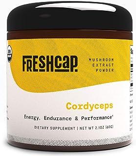 Organic Cordyceps Mushroom Extract Powder - Organic Cordyceps Militaris - Supplement - Energy and Endurance -Real Fruiting...