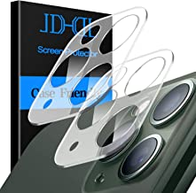 JDHDL Camera Lens Protector for iPhone 11 Pro Max/iPhone 11 Pro Tempered Glass,[ 2 Pack ] [High Definition][Scratch Resistant] with Replacement Warranty Camera Lens Protector