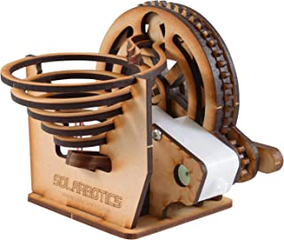 Convenient Gadgets & Gifts Marble Machine a Buildable Battery Powered Marble Machine Also Known As The Perpetual Motion Marble Kit