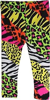 Infant/Toddler Neon Animal Print Rock Star Pants