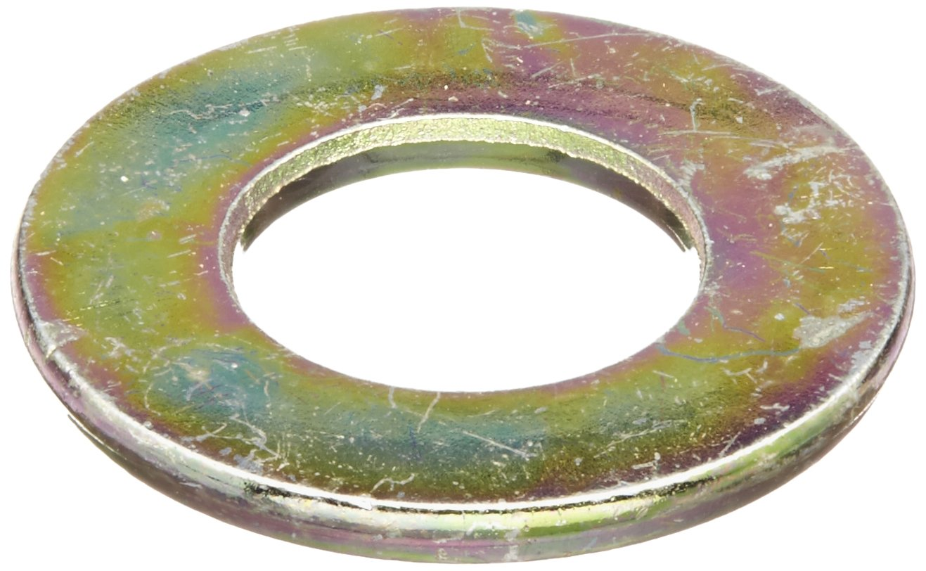 OFFicial Steel Flat Washer NEW before selling ☆ Zinc Yellow 8 Finish Chromate Grade Plated