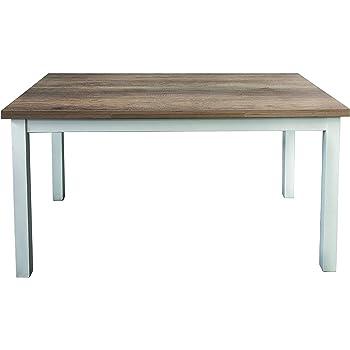 EGLEMTEK Tavolo da Pranzo Allungabile Fino a 190 cm Toledo Tavolino Consolle Salotto Salone 190 x 78 x 90 cm Colore Rovere
