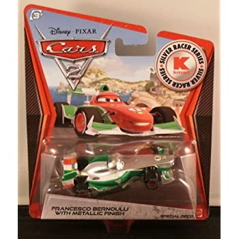 Disney Pixar CARS 2 Movie Exclusive 155 Die Cast Car with Synthetic Rubber Tires Raoul CaRoule