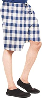 EASY 2 WEAR ® Men Cotton Checks Shorts (Size S to 4XL) Comfort FIT and Plus Sizes