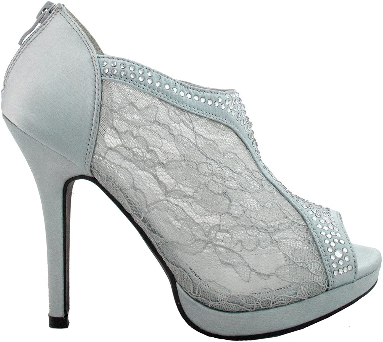 Static Footwear De Blossom Womens Yael-9 Dress Pumps shoes