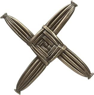 St. Brigid Cross Bronzed Wall Hanging - Made in Ireland