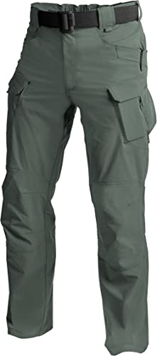 Helikon Hommes de plein air Tactique Pantalon Olive Drab taille XXL Long