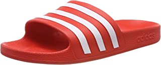 adidas Adilette Aqua, Unisex Adults Slides, Red (Active Red/Ftwr White/Active Red), 10 UK (44 2/3 EU)