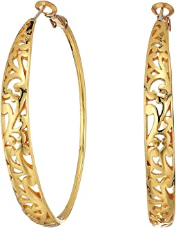 Elora Leverback Hoop Earrings