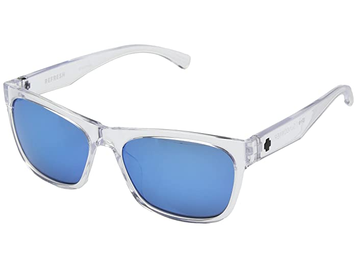 Spy Optic Sundowner (Crystal/Gray/Dark Blue Spectra) Sport Sunglasses