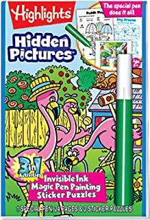 Lee Publications Magic Pen Painting - Highlights 'Hidden Pictures'