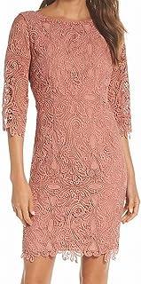 Eliza J Women's 3/4 Sleeve Lace Sheath Dress