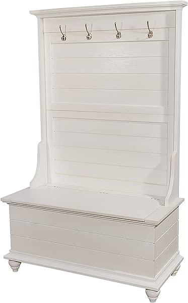 鲍威尔的家具 15A7057 门厅衣帽架白色