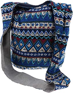 Lovoski Hippie Boho Print Crossbody Bohemian Gypsy Sling Shoulder Bag