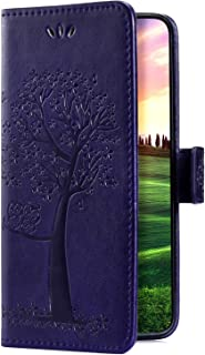 Uposao Samsung Galaxy J3 2016 Coque /Étui /à Rabat en Cuir PU,3D effet Motif Color/é Fleur Pochette Portefeuille Housse Luxe de Glitter Folio Flip Case Stand Coque pour Samsung Galaxy J3 2016,Hibou
