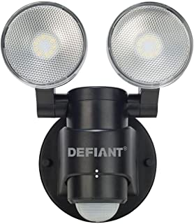 defiant motion light stays on