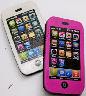 68656 24 Pack Raymond Geddes Smart Phone Erasers