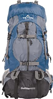 Teton Sports Ultralight Backpacks; Lightweight, Durable, Internal-Frame Backpack for Hiking, Backpacking, Travel and Camping; Not Your Basic Backpack