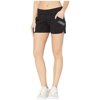PUMA Yogini 3 Shorts (Cotton Black) Women