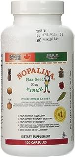 Nopalina Flax Seed Plus Formula Capsules, 120 Count